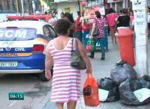 Policial do ES orienta como o cidadão deve agir para evitar assaltos - Reportagem foi para as ruas de Cachoeiro de Itapemirim e flagrou muita gente dando oportunidade para assaltante.