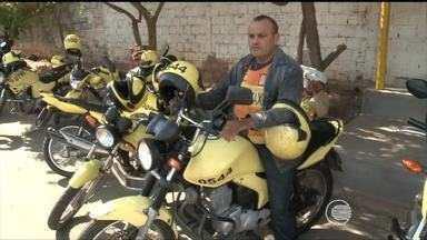 Mototaxistas trabalham com medo da violência em Teresina - Mototaxistas trabalham com medo da violência em Teresina