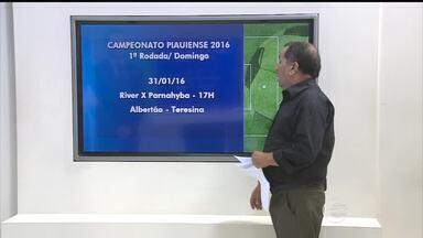Divulgada a tabela do Campeonato Piauiense de 2016 - Divulgada a tabela do Campeonato Piauiense de 2016