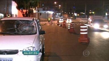 Motorista com sinais de embriaguez atropela torcedor do Palmeiras em SP - Um torcedor do Palmeiras foi atropelado na madrugada desta quinta-feira (3) na Freguesia do Ó, na Zona Norte de São Paulo. O motorista apresentava sinais de embriaguez.
