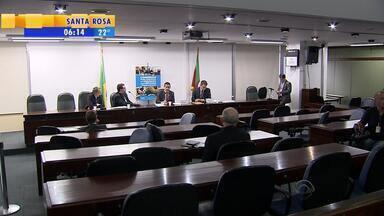 CPI da máfia das próteses ouve mais depoimentos na Assembleia Legislativa do RS - Esquema de superfaturamento de materiais foi divulgado pelo repórter Giovani Grizotti, da RBS TV.