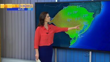 Tempo: previsão para sexta-feira (4) é de chuva no RS - Região Nordeste do estado deve ser a mais atingida.