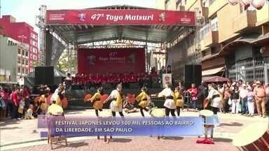 Festival de cultura japonesa em São Paulo celebra fim de ano - André Curvello acompanha o festival Toyo Matsuri, que reuniu 100 mil pessoas no bairro da Liberdade