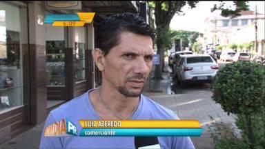 Em Paranavaí, moradores e comerciantes estão assustados com o aumento de roubos e furtos - Número de roubos e furtos na cidade já é maior do que o registrado em todo o ano de 2014.