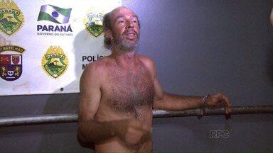 Pai agride filha de 16 anos com uma cabeçada e vai preso em Foz do Iguaçu - A mãe da garoto abordou os policiais para pedir ajuda. O pai foi preso em um bar.