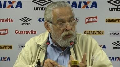 Eurico assume responsabilidade por rebaixamento do Vasco e garante permanência de Jorginho - Presidente criticou a antiga gestão.