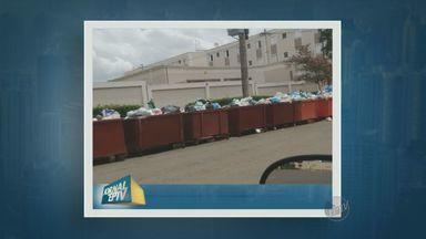 Moradores reclamam de falta de coleta de lixo em Americana - Moradores de um condomínio com 2 mil moradores reclamam de falta de coleta de lixo em Americana (SP). Segundo eles, faz duas semanas que o caminhão não passa pela região.