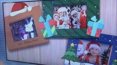 Telespectadores enviam fotos para o fim de ano do Jornal da EPTV - A pequena Júlia já pegou uma carona na rena do Papai Noel.