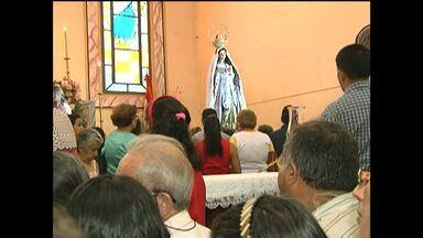 Católicos lotam missa no Dia de Nossa Senhora da Conceição em Santarém - Missa das 7h na Catedral é a principal celebração do dia 8 de dezembro.