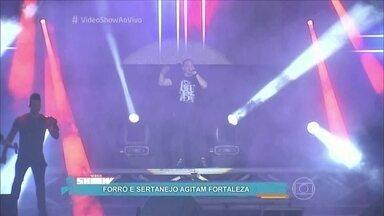 Forró e sertanejo agitam Fortaleza - Otaviano Costa fala de incidente em show de Wesley Safadão em Sete Lagoas, Minas Gerais