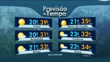 Veja como fica o tempo nesta terça-feira (8), no Maranhão - Sol e pancadas de chuva no Maranhão nesta terça-feira (8). Veja na previsão do tempo.