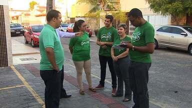 Equipe Verde do 'Mãos Amigas' comemora conquistas - Equipe Verde do 'Mãos Amigas' comemora conquistas