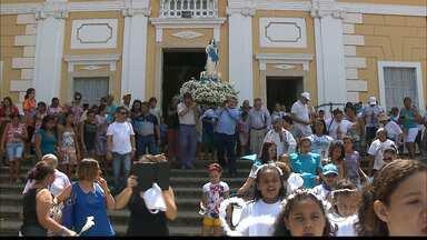 Procissão de Nossa Senhora da Conceição em João Pessoa - A procissão saiu da Igreja São Frei Pedro Gonçalves em direção ao rio.