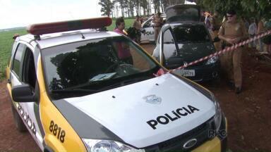 Um homem foi morto com mais de 20 tiros em Maringá - O corpo dele foi encontrado numa estrada rural