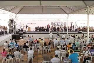 Capital mineira é transferida simbolicamente para Matias Cardoso - Mudança é realizada para comemorar Dia dos Gerais.
