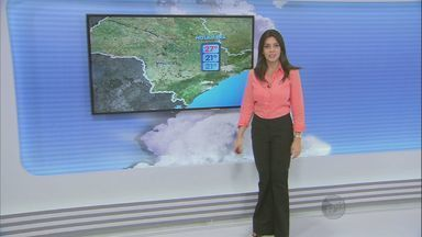 Veja a previsão do tempo para a quarta-feira na região - Manhã começa com nebulosidade alta e há chances de chuva pela manhã.