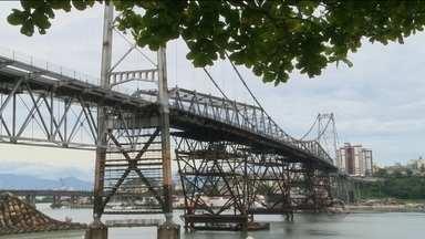 Começa nova etapa de restauração da Ponte Hercílio Luz - Começa nova etapa de restauração da Ponte Hercílio Luz