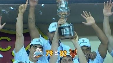 Com cesta no último segundo, Brasília conquista o Sul-Americano de basquete - Partida foi contra o Regata Corrientes, da Argentina.