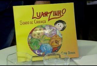 Livro Luanzinho Sonho de Criança é lançado em Belo Horizonte - Obra é do atacante do Atlético Luan em parceria com o escritor Caio Ducca.