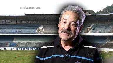 Zelador do Olímpico lamenta situação do estádio - Assista ao vídeo.