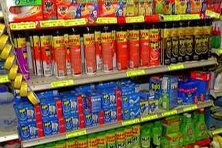 Com medo de doenças, produtos como repelente esgotam no Alto Tietê - A preocupação com o mosquito provocou uma grande busca sobre esse tipo de produto.