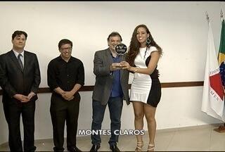 Projeto Montes Claros Olímpica premia entidades e atletas de Montes Claros - 41 atletas foram homenageados.