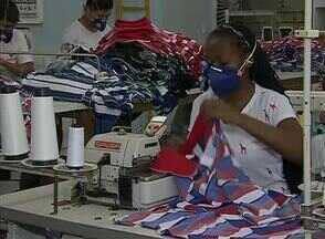 Casos de viroses reduz produção em fábrica de Santa Cruz do Capibaribe - Houve redução de 95% na produção das confecções locais.