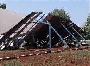 Chuva forte causa prejuízos em várias regiões de Palmas - Chuva forte causa prejuízos em várias regiões de Palmas