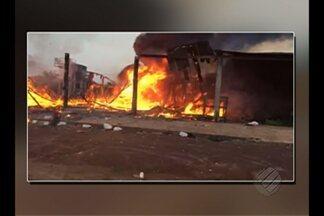 Em Acará, a polícia investiga atos de vandalismo contra a empresa Biopalma - Em Acará, a polícia investiga atos de vandalismo contra a empresa Biopalma