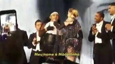 Brasileiro José William dançou com Madonna em show na Itália - Fã conhecido como Madoninho diz que já fez loucuras pela cantora
