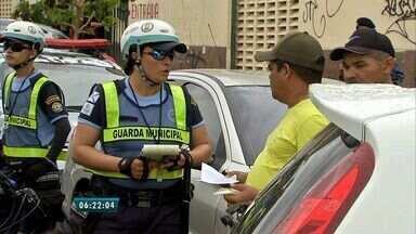 Guardas Municipais reforçam fiscalização do trânsito de Fortaleza - Agora a categoria também está autorizada a multar os infratores.
