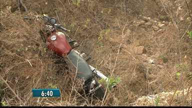Jovem morre em acidente de moto na PB - Acidente foi na estrada que liga as cidades de Mulungu a Gurinhém.