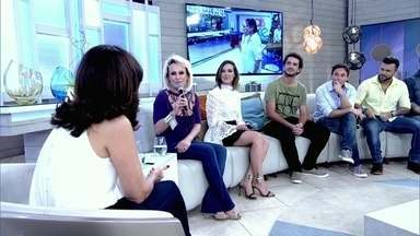Ana Maria Braga fala sobre visita de Roberto Carlos ao Mais Você - Encantada, apresentadora conta que o Rei fez questão de cumprimentar cada uma das pessoas da equipe