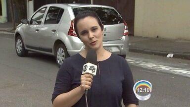 Nova área de zona azul começa a operar nesta segunda em São José - Nova área fica na rua Serimbura.