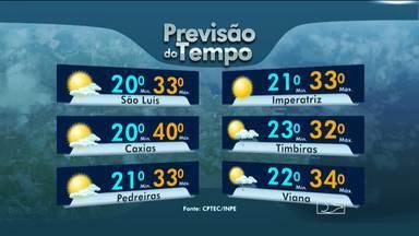 Veja a previsão do tempo para nesta segunda-feira (28) - Veja a previsão do tempo para nesta segunda-feira (28)