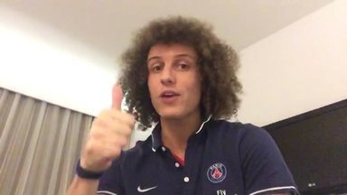 David Luiz grava vídeo convidando para jogo beneficente de Xis - Partida vai acontecer no Ginásio Ronaldão, em João Pessoa