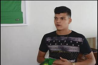 Goleiro uberlandense é promessa do futebol brasileiro - Gabriel Brazão, de apenas 15 anos, é goleiro titular absoluto no Cruzeiro e já desponta nas categorias de base da Seleção Brasileira. Agora em janeiro, ele embarca com o time sub-18 celeste, para um torneio no México, na Copa Chivas