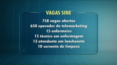 Agência do Trabalhador oferece mais de 750 vagas de empregos em Londrina - Mais de 650 são para operador de telemarketing. É uma ótima oportunidade pra começar 2016 empregado.