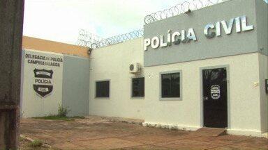 Preso faz a segurança em cadeia de Campina da Lagoa - Nossa equipe foi até a delegacia e não encontrou nenhum policial.