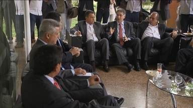 Governadores discutem saídas pra crise econômica dos estados - Pacientes voltam a enfrentar problemas no atendimento em unidades públicas de saúde.