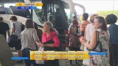 Aeroportos e rodoviárias devem registrar grande movimento com a chegada de turistas - Aeroportos e rodoviárias devem registrar grande movimento com a chegada de turistas