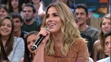 Wanessa relembra primeira vez no 'Altas Horas': 'Eu era mais nova que a plateia' - 'Agora eu sou mais velha', brinca a cantora com Serginho Groisman