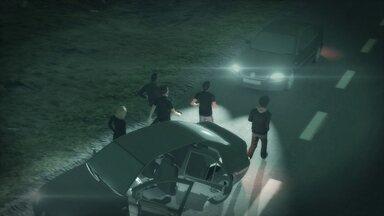 Bandidos fazem nove reféns por oito horas durante assalto - Bandidos fizeram nove reféns por outo horas durante assalto a uma chácara no lago oeste na noite de sábado (9).