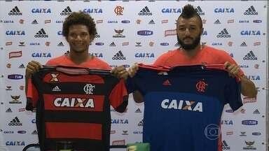 Fim de semana movimentado na pré-temporada do Flamengo - Willian Arão e Muralha são bem recebidos no clube.