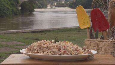 Fernando Kassab ensina uma deliciosa receita de arroz cubano no quadro Prato Feito - Fernando Kassab ensina uma deliciosa receita de arroz cubano no quadro Prato Feito