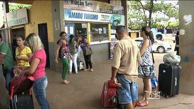 Passageiros reclamam do Terminal Rodoviário de Balsas - Passageiros reclamam do Terminal Rodoviário de Balsas.