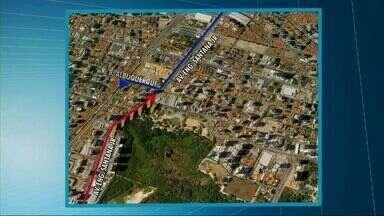 Avenida Engenheiro Santana Júnior tem novas intervenções; veja as mudanças - Intervenções começaram no sábado.