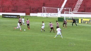 Vila Nova goleia o Linense por 5 a 0 e avança na Copinha - Tigre enfrenta o Mirassol na terceira fase, quarta-feira, às 19h