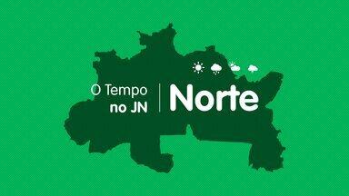 Veja a previsão do tempo para terça-feira (12) no Norte - Veja a previsão do tempo para terça-feira (12) no Norte