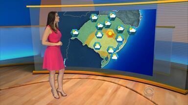 Tempo: terça-feira (12) deve ser de altas temperaturas no RS - Região Norte pode ter pancadas de chuva no fim da tarde.